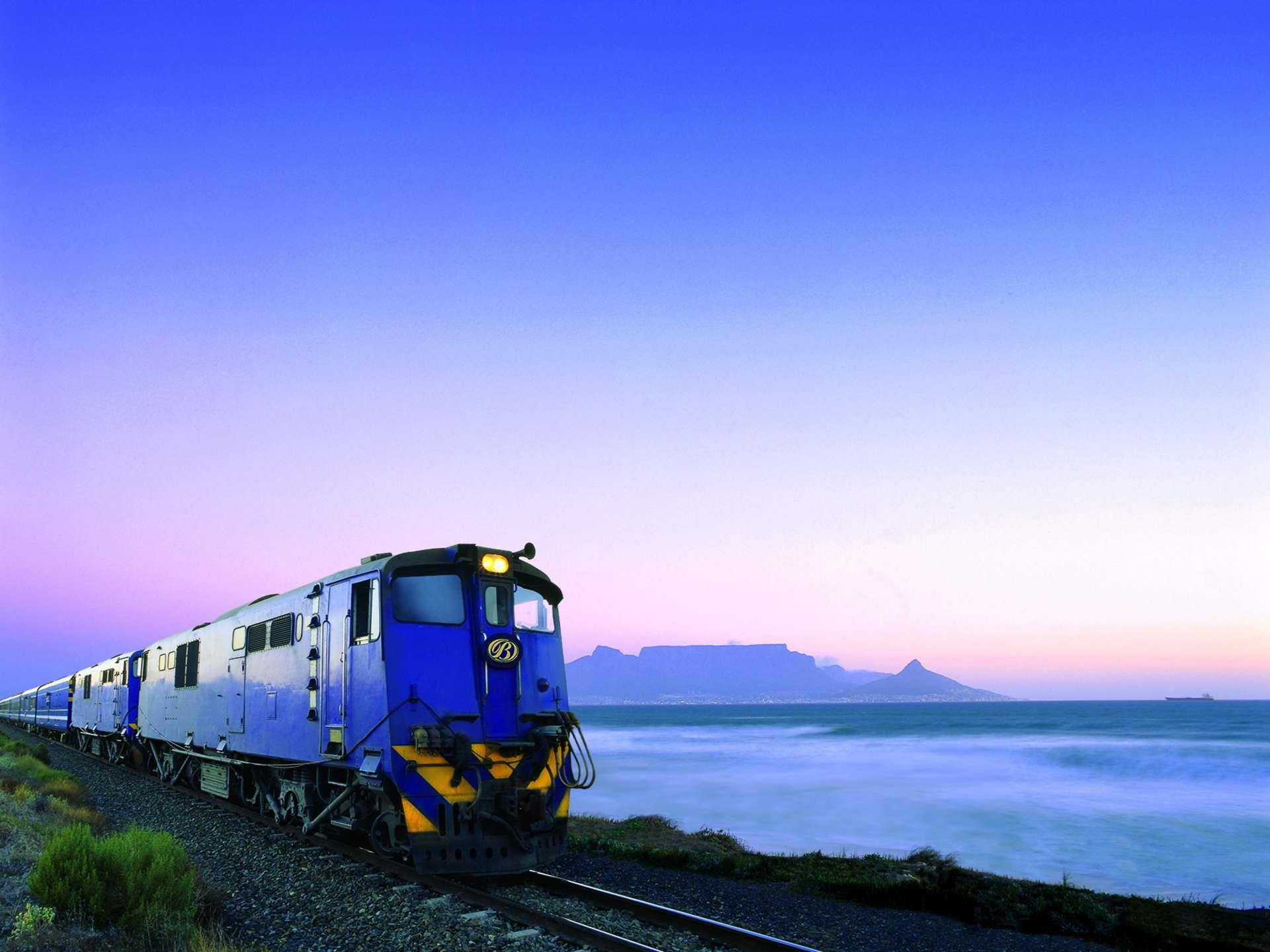 Zuid-Afrika_Blue_Train_buitenaanzicht