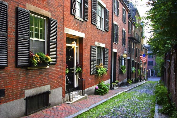 USA_Boston_Beacon_Hill_Residential_Building