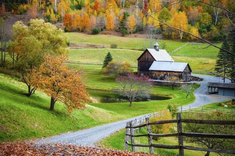 USA_Vermond_New_England_Indian_Summer_landschap