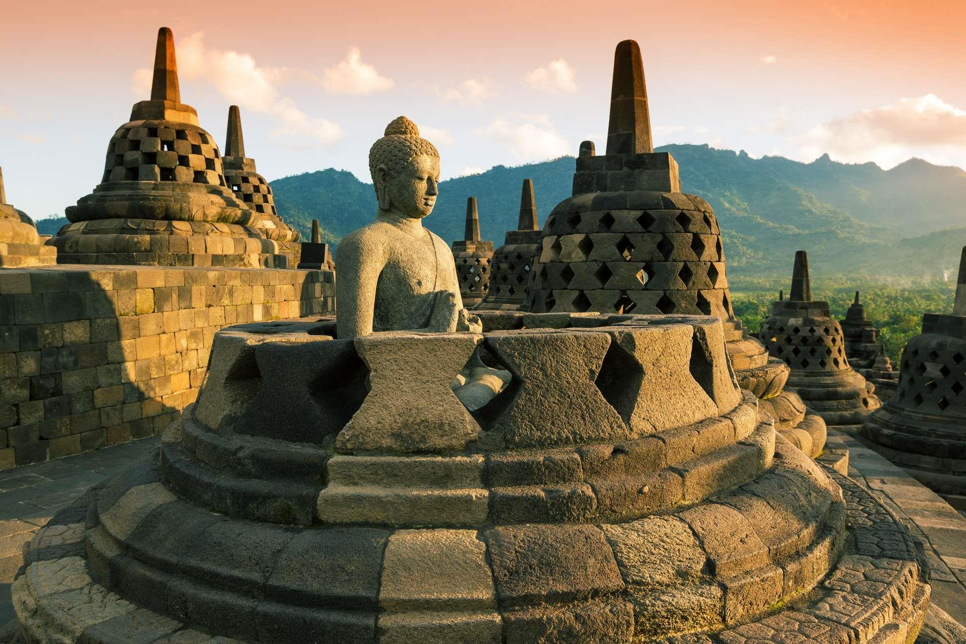 Indonesie_Java_borobodur
