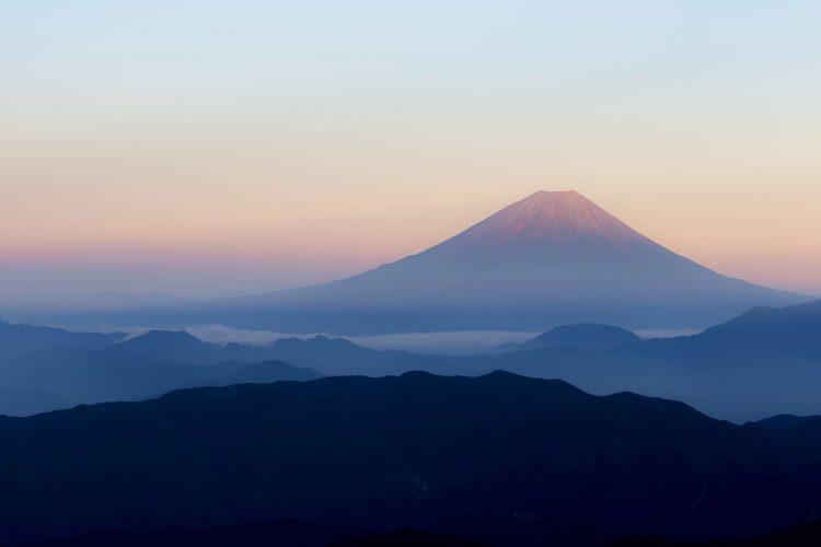 Japan_Mount_Fuji_zonsondergang