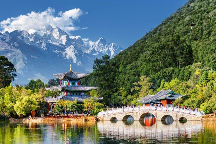 China_Lijiang_Jade_Spring_Park_Jade_Dragon_Snow_Mountain_Black_Dragon_Pool