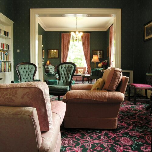 Ierland_Oughterard_Galway_Ross_Lake_House_hotel_lounge