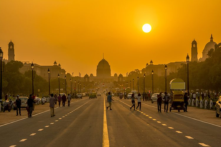 India_New-Delhi_sunset-presidential-residence_cox&kings