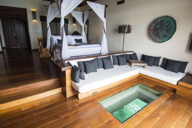 Cambodja-Song-Saa-over-water-villa-interieur